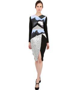 Peter Pilotto | Платье Из Шерстяного Крепа