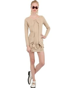 PLUSTHIRTYNINE | Платье Из Шерстяного Джерси