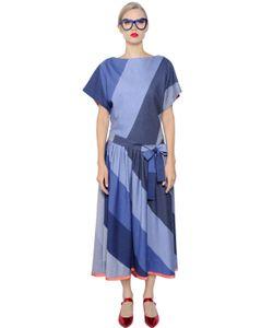 Tsumori Chisato | Платье Из Лёгкой Хлопковой Смески И Фланели
