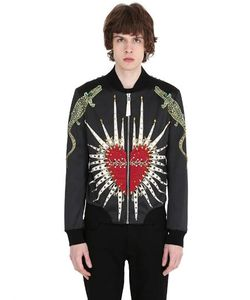 CHRISTOPHE TERZIAN | Куртка-Бомбер С Вышивкой