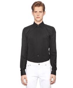 Dolce & Gabbana | Рубашка Из Хлопкового Жаккарда
