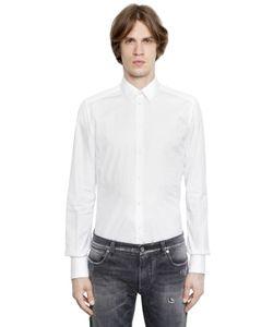 Dolce & Gabbana | Рубашка Из Хлопкового Стрейч Поплин