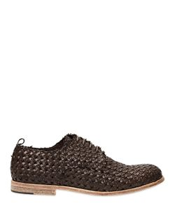 ERNESTO DOLANI | Ботинки Из Плетёной Кожи