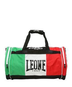 LEONE 1947   Спортивная Сумка Из Нейлона С Принтом Флага Италии