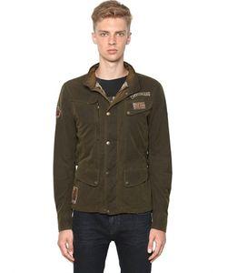 MATCHLESS LONDON | Куртка Kensington Из Вощёного Хлопка