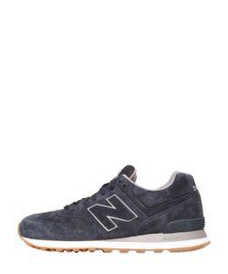 New Balance | Замшевые Кроссовки 574