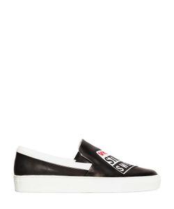 Vision Street Wear | Vision Street Swear Кожаные Кроссовки Без Шнуровки С Логотипом