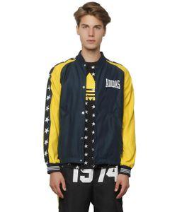 ADIDAS ORIGINALS BLUE | Куртка-Бомбер Из Водоотталкивающего Атласа