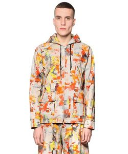 BASSO&BROOKE STUDIO   Куртка Из Вискозы С Принтом Digital