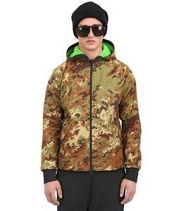 GRIFFIN | Куртка Из Хлопковой Парусины И Нейлона