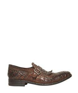 Harris | Туфли Из Крокодиловой Кожи