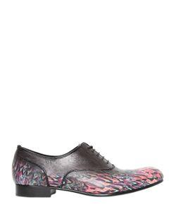 MIHARA YASUHIRO | Miharayasuhiro Кожаные Ботинки Oxford С Принтом