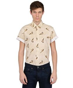 SAINTPAUL | Рубашка С Короткими Рукавами Из Хлопка Поплин