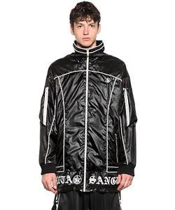 SKINGRAFT | Ветронепроницаемая Куртка Из Нейлона