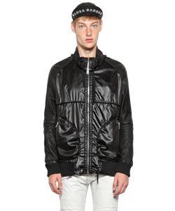 SKINGRAFT | Куртка Из Нейлона И Кожи