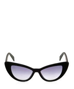 Italia Independent | I-Plastik 0906 Velvet Cat Eye Sunglasses