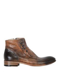 JO GHOST | Ботинки Из Кожи Ручная Работа