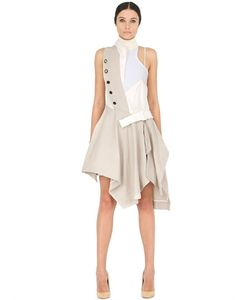 ANNE SOFIE MADSEN | Платье Turbeville Из Хлопка И Шерсти