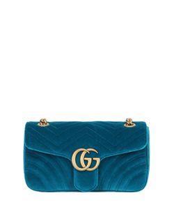 Gucci | Бархатная Сумка Gg Marmont 2.0