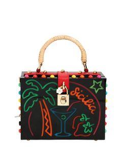Dolce & Gabbana | Сумка Dolce Box Sicilia C Подсветкой