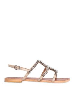 PERCENT | 10mm Vittoria Embellished Leather Sandal