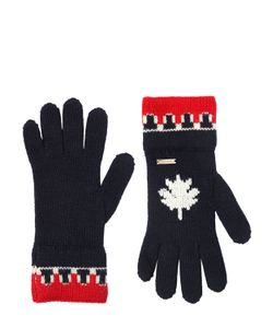 Dsquared2   Трикотажные Перчатки Из Шерсти И Шерсти Альпака