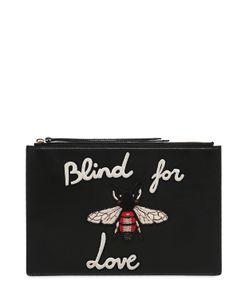 Gucci | Кожаный Клатч Blind For Love
