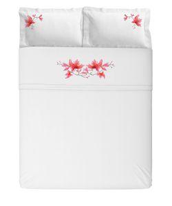 SANS TABÙ | Комплект Льняного Постельного Белья Peach Blossom