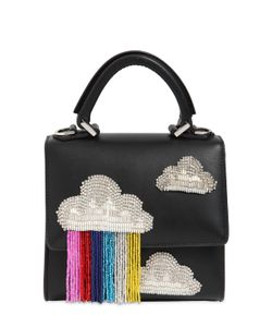 Les petits joueurs | Micro Alex Cloud Fringed Leather Bag