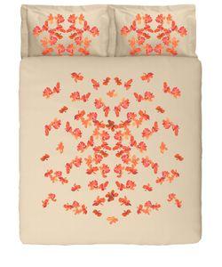 SANS TABÙ | Комплект Постельного Белья С Принтом Бабочки