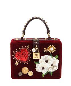 Dolce & Gabbana | Бархатная Сумка Dolce Box