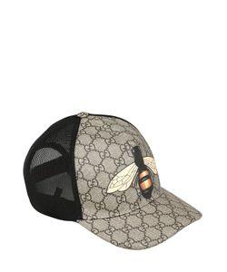 Gucci | Бейсбольная Кепка Из Канвас И Сетчатого Материала