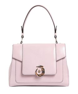 Trussardi | Lovy Polished Leather Top Handle Bag