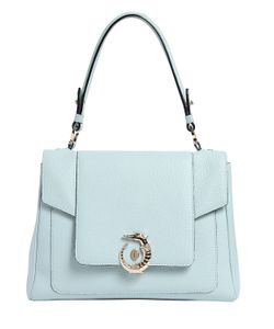 Trussardi | Lovy Grained Leather Top Handle Bag