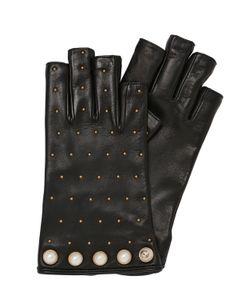 Gucci | Кожаные Перчатки С Заклёпками