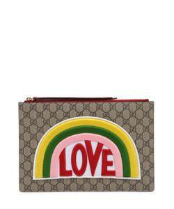 Gucci | Клатч С Фирменным Рисунком Gg Supreme