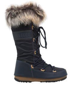 Moon Boot | Monaco Nylon Faux Leather Boots