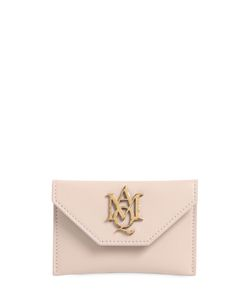 Alexander McQueen | Insignia Envelope Leather Card Holder