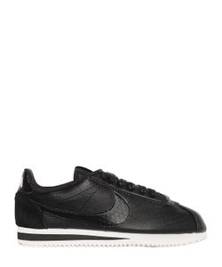 Nike | Classic Cortez Embossed Leather Sneakers