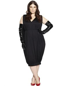 BETH DITTO | Silk Bubble Dress