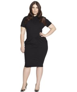 BETH DITTO | Fitted Gathered Modal Dress