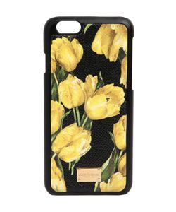 Dolce & Gabbana   Чехол Iphone 6 С Принтом Тюльпаны