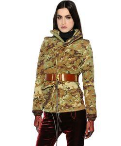 Dsquared2 | Куртка Из Канвас И Стёганая Куртка