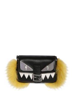 Fendi | Кожаная Сумка-Багет Monster