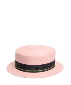 Maison Michel | Шляпа Из Бобрового Фетра Auguste