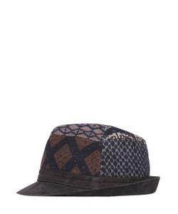 Etro | Шляпа Из Шерсти И Замши