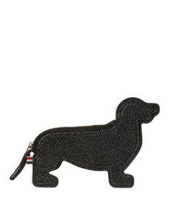 Thom Browne | Кожаный Кошелёк Для Монет В Форме Собаки