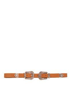 B-Low The Belt | Кожаный Ремень С Двойной Пряжкой 25mm