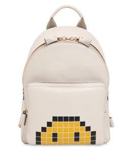Anya Hindmarch | Кожаный Рюкзак С Тиснением Pixels Smiley