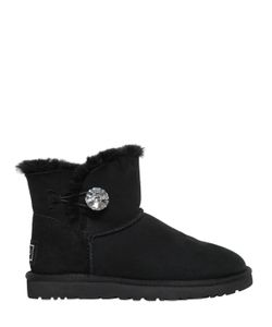 UGG Australia | Ботинки Mini Bailey Button Bling Из Овчины
